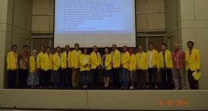 Ketua ILUNI UI Melantik Pengurus ILUNI FMIPA UI 2014-2018