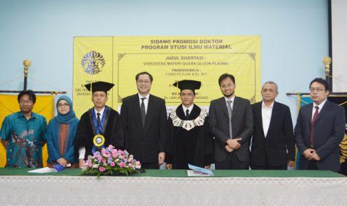 Promosi Doktor: Tjong Po Djun