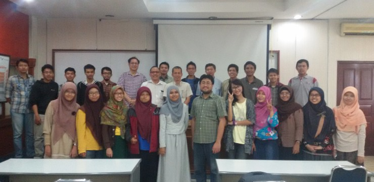 Seminar Fisika-UI: Julio, Ph.D, Research Center for Physics | Indonesian Institute of Sciences | LIPI.