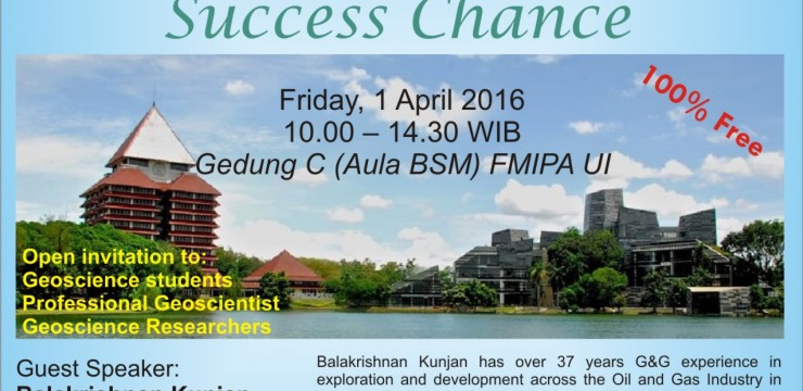 Launch Talk: The Exploration Succes Change