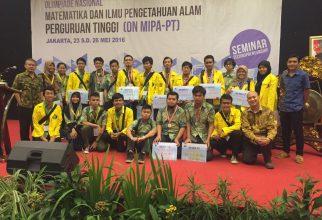 FMIPA UI Juara Umum 2 pada ON-MIPA 2016