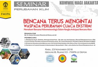 Seminar Memahami Bencana Hidrometeorologi