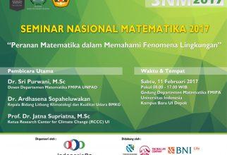 Seminar Nasional Matematika 2017