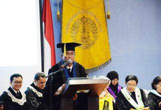 Pengukuhan Guru Besar Tetap FMIPA UI Prof. Jatna Supriatna, M.Sc., Ph.D