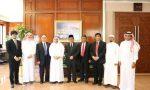 Konjen RI Jeddah dan Rektor UI Bertemu dengan Rektor Universitas Terbaik se-Dunia Arab 2017