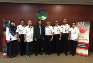 Pertemuan Dekan FMIPA UI dengan Kepala BMKG