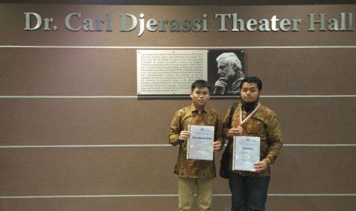 Mahasiswa FMIPA UI kembali raih prestasi di Ajang Internasional