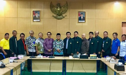 Audiensi FMIPA UI Ke Bupati Belitung