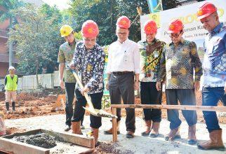 FMIPA UI Lakukan Groundbreaking Pembangunan Kantin, Mushola & Pusgiwa