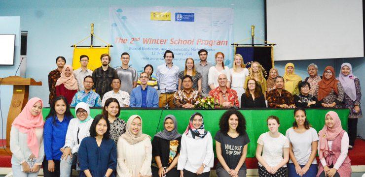 Winter School Tentang Keanekaragaman Hayati dan Keberlanjutan Ekosistem Laut di Indonesia