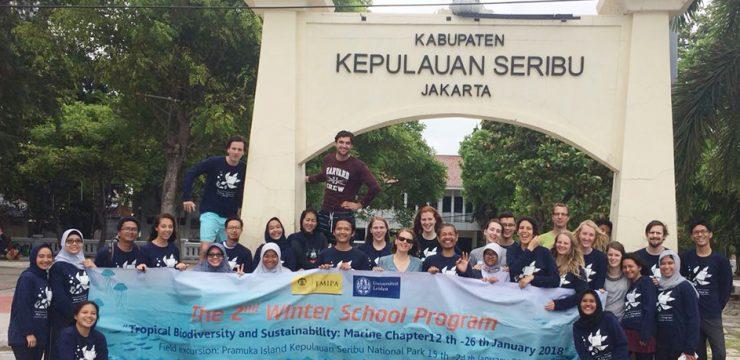 Peserta Program Winter School 2018 Lakukan Observasi di Pulau Seribu