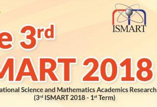 The 3rd ISMART 2018
