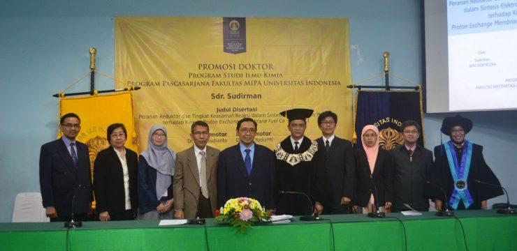 Promosi Doktor Sudirman