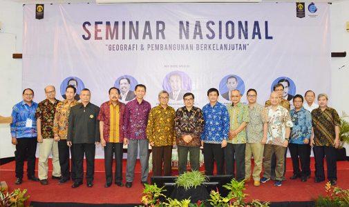 Peranan Geografi Dalam Proses Pembangunan Berkelanjutan di Indonesia