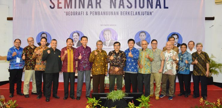 The role of Geography in the process of sustainable development in Indonesia