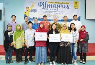 Dhita Mutiara Nabella Terpilih Sebagai Juara Pilmapres FMIPA UI 2018