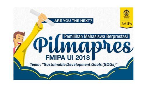 Ingin Jadi Peserta PILMAPRES FMIPA UI 2018? Catat Tanggal Penting dan Persyaratannya