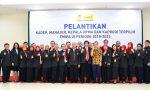 Pelantikan Kadep, Manajer, dan Kaprodi FMIPA UI Periode 2018-2022