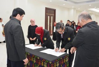 Pelantikan Pejabat Struktural di Lingkungan FMIPA UI
