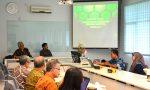 Diskusi dengan FT UI tentang Pengembangan SDM, SAF dan DGB FMIPA UI