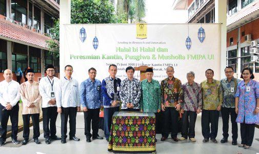 Perkuat Silaturahmi dan Sinergitas FMIPA UI Gelar Acara Halal Bihalal