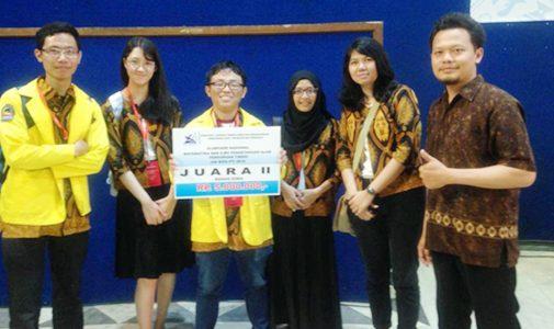 Perolehan Prestasi Kontingen FMIPA UI di Ajang ON MIPA-PT 2018