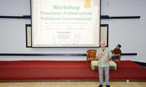 FMIPA UI Pacu Produktifitas Jurnal Bereputasi Internasional