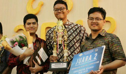 Mahasiswa FMIPA UI Juara 2 Lomba Debat Indonesia