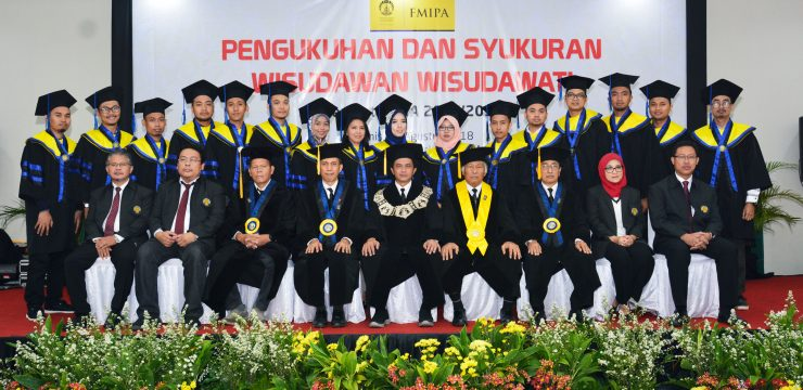 FMIPA UI Graduated 477 Graduates Academic Year 2017/2018