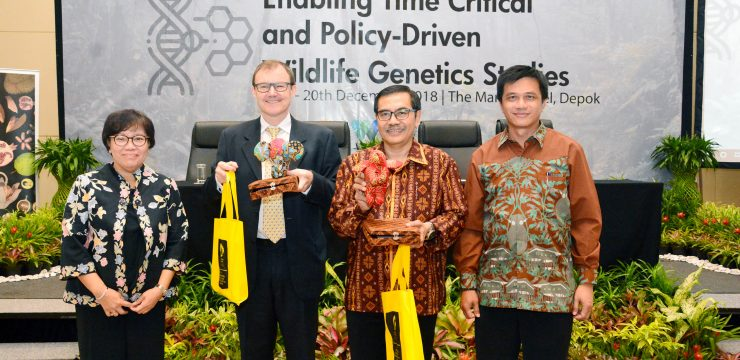 Seminar & FGD Enabling Time Critical and Policy-Driven Wildlife Genetics Studies