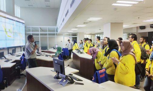 Perluas Wawasan Penanggulangan Bencana, Prodi Geosains FMIPA UI Kunjungi BNPB