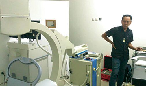 LFMB FMIPA UI Gelar Uji Kesesuaian Peralatan Radiologi Diagnostik dan Intervensional Gratis