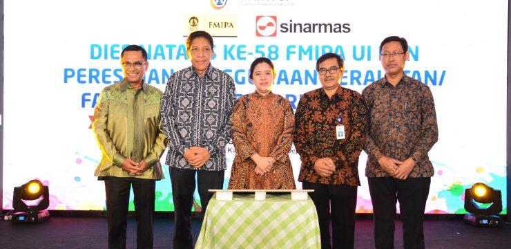 """Dies Natalis FMIPA UI ke-58 : Sinar Mas Lengkapi Laboratorium FMIPA UI """"Guna Perkuat Budaya Riset Terapan"""""""