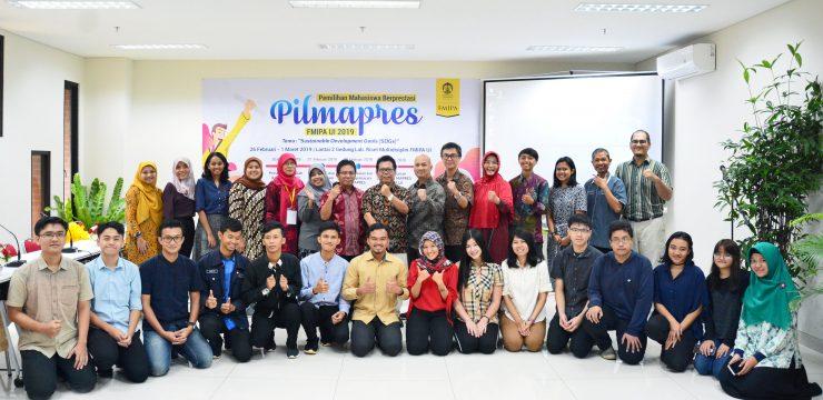 Pemilihan Mahasiswa Berprestasi (MAPRES) FMIPA UI 2019 Berlangsung Hari ini