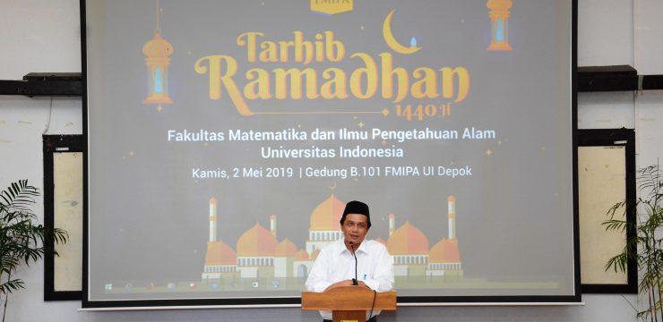 Sambut Ramadhan, FMIPA UI Gelar Tarhib Ramadhan