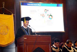 Prof. Abdul Haris Dikukuhkan Sebagai Guru Besar FMIPA UI