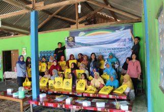 Tim Pengmas FMIPA UI, Beri Pelatihan Untuk Istri Nelayan Pantai Depok
