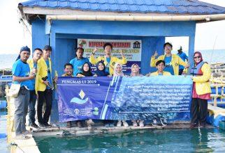 Tim Pengmas FMIPA UI Ciptakan Inovasi Minatransporter Untuk Jaga Kesegeran dan Daya Tahan Ikan