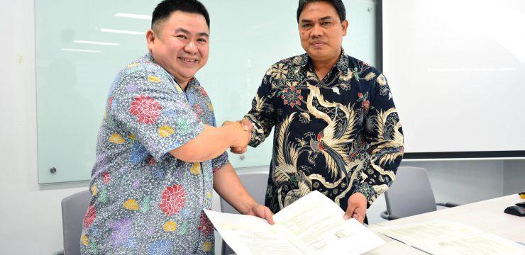 Penandatanganan MoU antara UMG Idealab Indonesia dengan Universitas Indonesia
