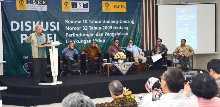 Permasalahan Lingkungan Hidup Makin Mengkhawatirkan, FMIPA UI Kumpulkan Pakar Gelar Review UU 32 Tahun 2009
