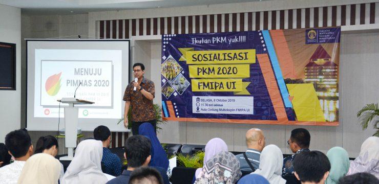 Sosialisasi PKM FMIPA UI
