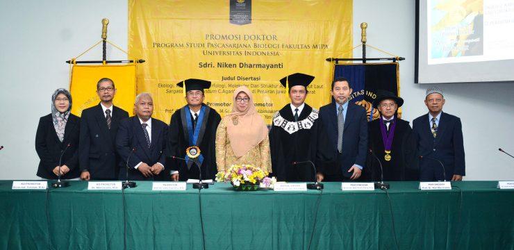 Promosi Doktor Bidang Biologi – Dr. Niken Dharmayanti