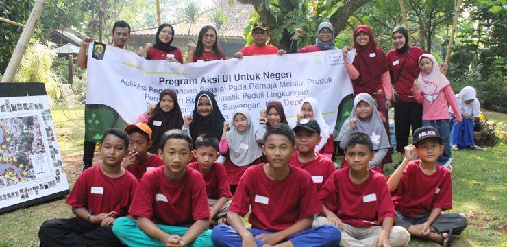 Melalui Permainan Tematik, Tim Pengmas FMIPA UI Dorong Kalangan Remaja Jadi Agen Perubahan Atasi Masalah Lingkungan