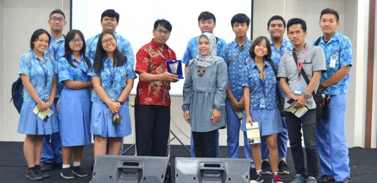 Kunjungan SMA Tunas Indonesia