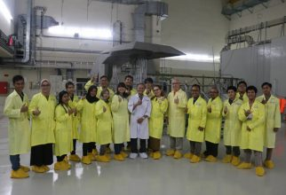 Recognize Nuclear and The Benefits Closer, ILUNI and FMIPA UI Students Educational Trip to BATAN