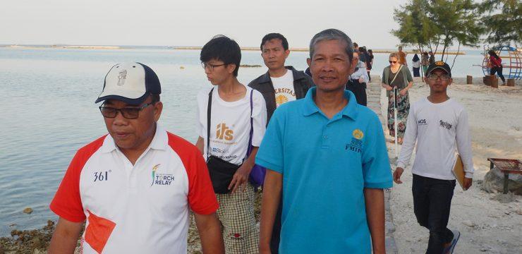 Regent of Jakarta, Thousand Islands Welcomed The Winter School Program Group