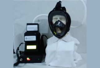 Peneliti FMIPA UI Yang Tergabung Dalam Tim Ahli UI Kembangkan APD Respirator Pemurni Udara bagi Tenaga Medis