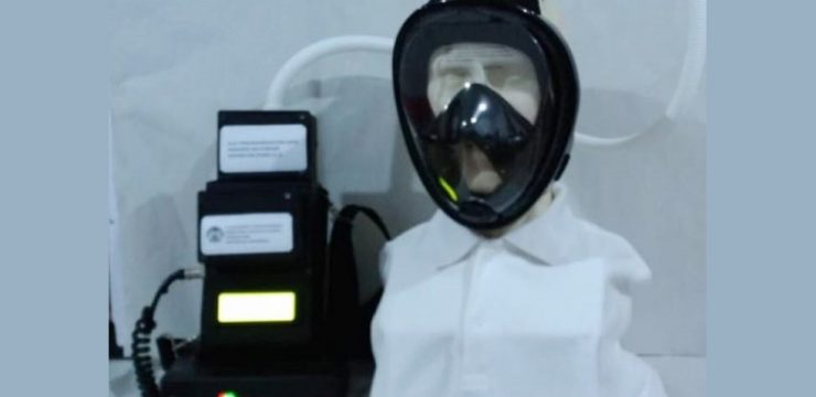 FMIPA UI Researchers Incorporated in the UI Expert Team Develop APD Air Purifying Respirators for Medical Personnel