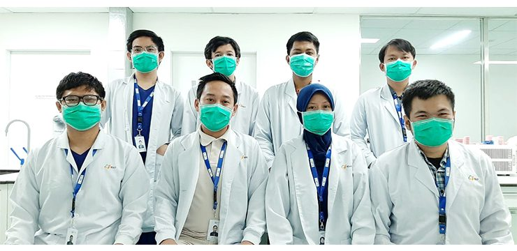 FMIPA UI Students and Alumni Become Laboratory Analysis Volunteers at RSUI