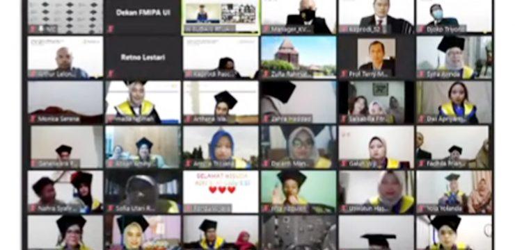 Inilah Deretan Wisudawan Terbaik FMIPA UI Semester Genap Tahun Akademik 2019/2020